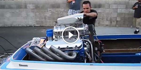 1200 HP Blown Injected Biesemeyer Jet Boat