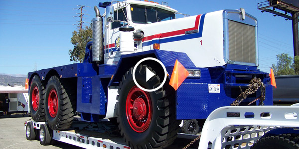 Huge Kenworth At The End of Truckin For Kids 2013