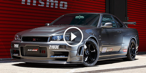 THE MOST BEAUTIFUL NISSAN SKYLINE GTR34 You've Ever Seen