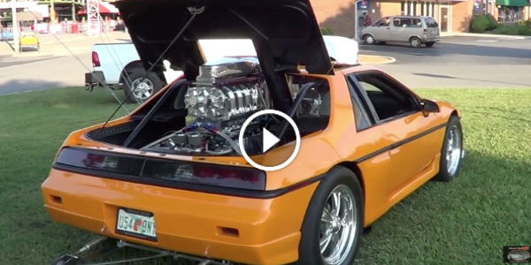 1984 PONTIAC FIERO With SUPERCHARGED REAR V8 Engine! Completely STREET-LEGAL! Can You Believe It! 22