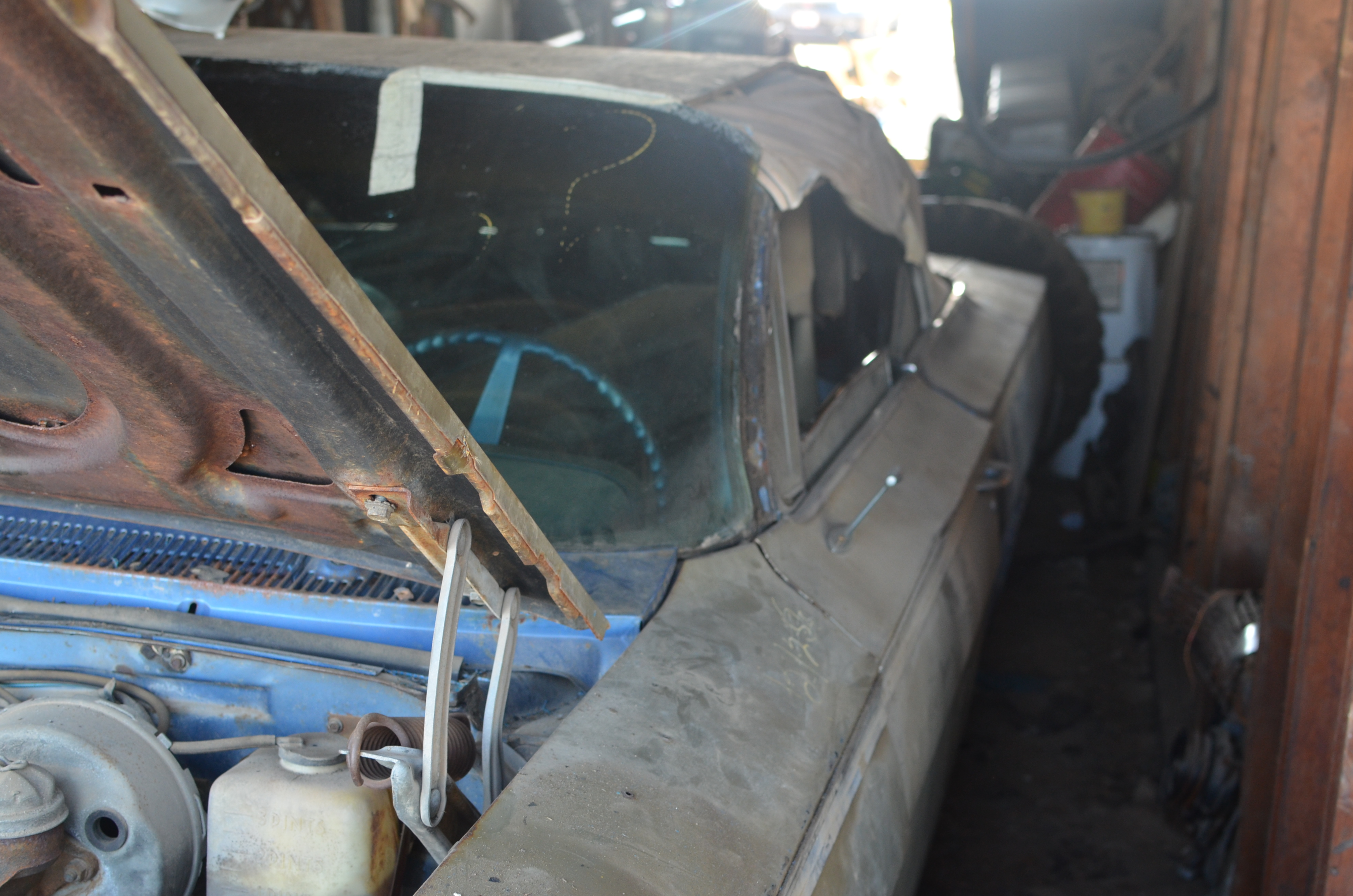 Another FANTASTIC BARN FIND! Look At This Forgotten 1962 IMPALA SS Convertible Found In Spokane, WA!! 13
