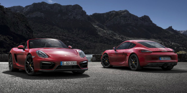 Boxster & Cayman Will Return To Four-CYLINDER POWER