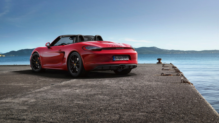 Boxster GTS & Cayman GTS Will Return To Four-CYLINDER POWER 2