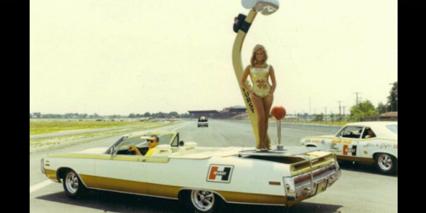 Linda Vaughn & The Amazing 1970 Chrysler Hurst 300 convertible eBay