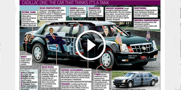 CADILLAC One OBAMA LIMOUSINE 2