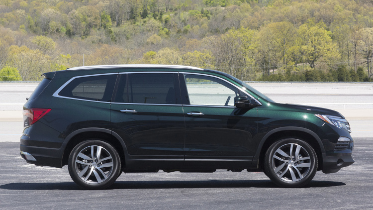 First Honda The 2016 Honda Pilot First