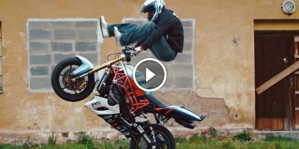 This Guy WAS BORN On A MOTORBIKE! Check The Amazing STUNTS Of Martin Krátký! 22