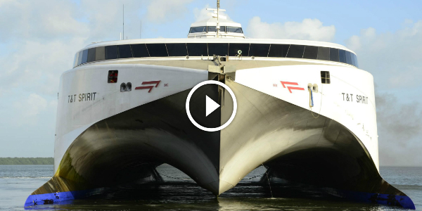 This Incat Catamaran Named Francisco Uses Boeing 747 Engines