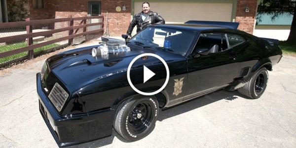 Mad Max Fan Recreates Original Interceptor Car 1972 FORD FALCON
