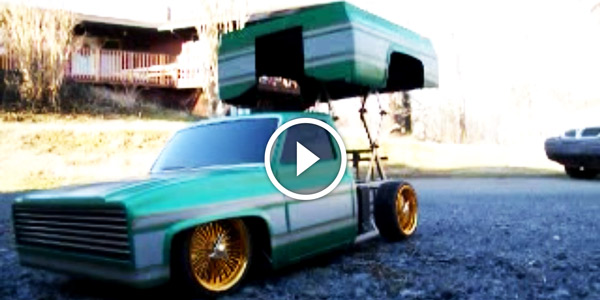 Cars With Hydraulics: Insanely Cool RC LOWRIDER TRUCK WITH HYDRAULICS