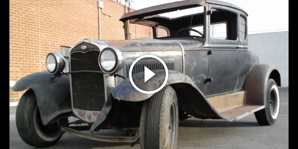 1930 FORD MODEL A - Oil Changing After Sitting In The Garage For HALF A CENTURY 234