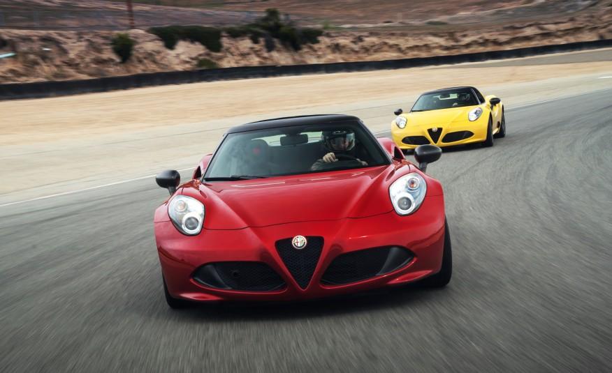 2015 Alfa Romeo 4C Spider First Drive 1
