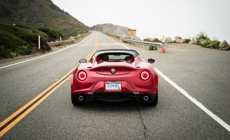 2015 Alfa Romeo 4C Spider First Drive 6