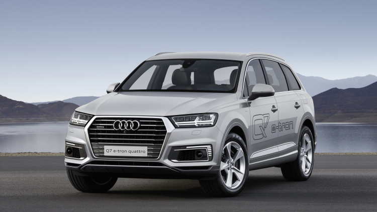 2015 FRANKFURT MOTOR SHOW Will Host The ALL-ELECTRIC CUV Of AUDI 2