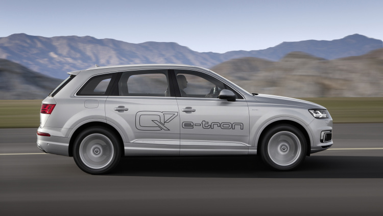 2015 FRANKFURT MOTOR SHOW Will Host The ALL-ELECTRIC CUV Of AUDI 5