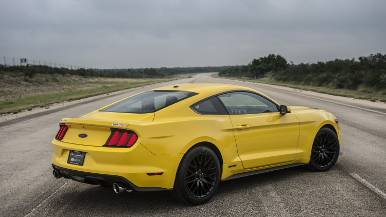2015 hennessey ford mustang hits a top speed of 207 9 mph 9 muscle cars zone. Black Bedroom Furniture Sets. Home Design Ideas