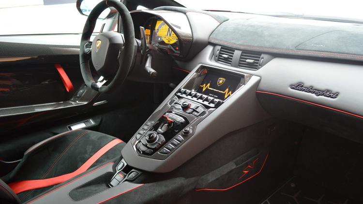 The 2016 Lamborghini Aventador Lp 750 4 Superveloce