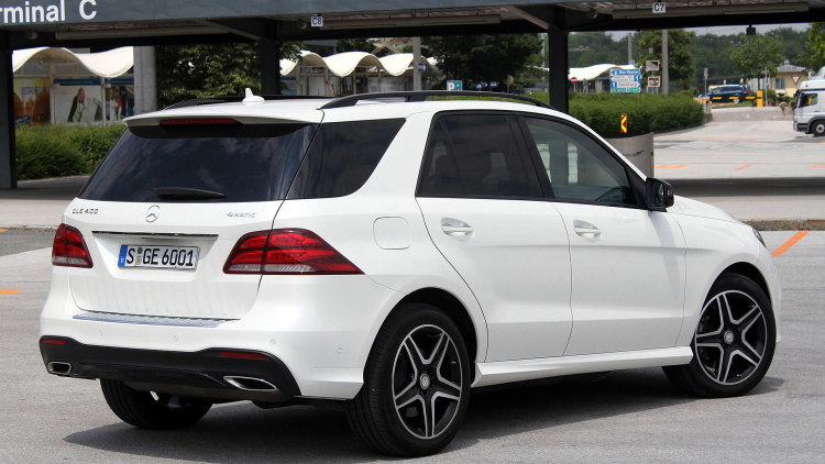 2016 Mercedes Benz Gle Class Suv Coupe First Drive 2