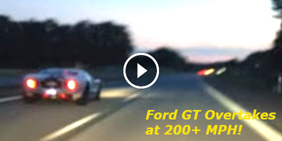 R35 GTR vs 997 Turbo and a Ford GT HIGH SPEED 350kmh PASS SURPRICE