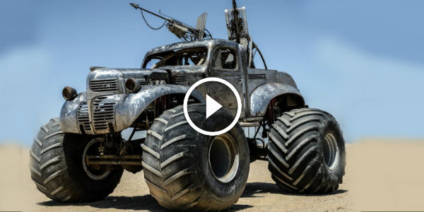 FURY ROAD Behind The Scenes cars of mad max