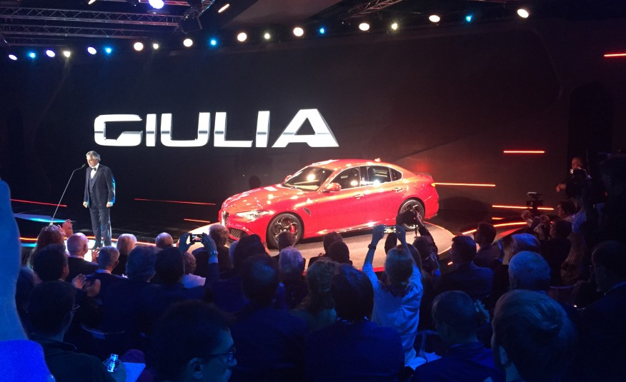 ALFA ROMEO Introduced The New 2017 GIULIA MODEL 4