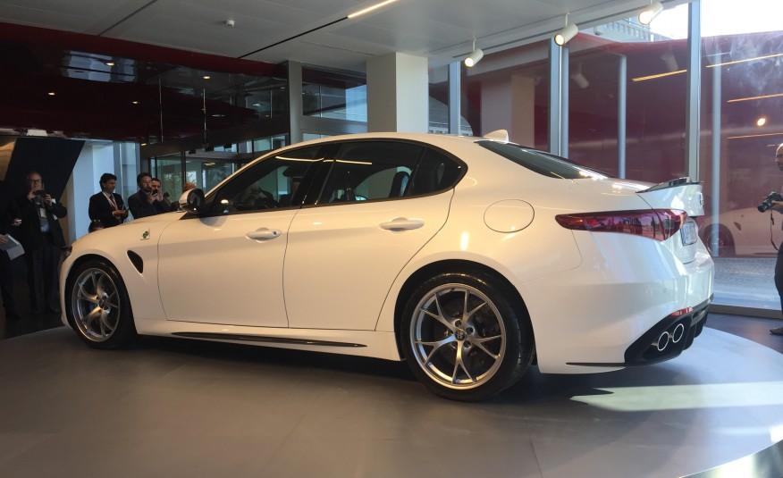 alfa romeo new car releasesALFA ROMEO Introduced The New 2017 GIULIA MODEL  Muscle Cars Zone