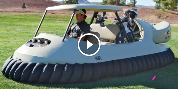 BUBBA HOVERCRAFT BW1 Is A GOLF CART On STEROIDS 141