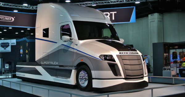 Freightliner Supertruck Of Tomorrow The Most Fuel