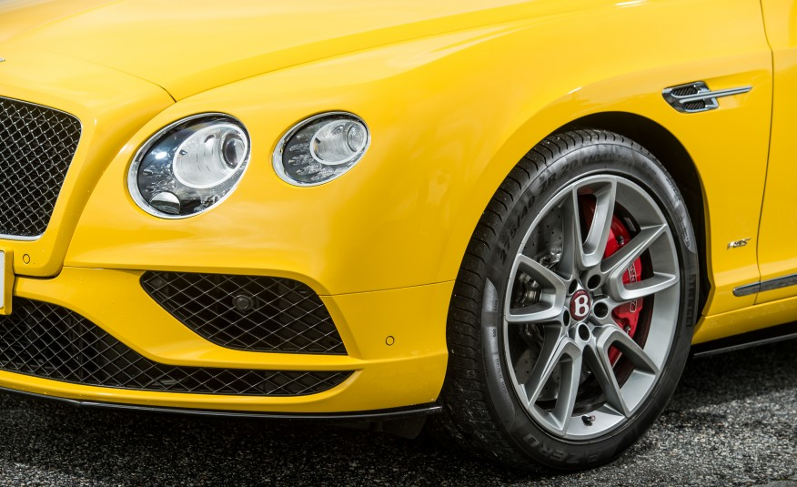 First Drive REVIEW Of The 2016 Bentley Continental GT Speed GT V8 S coupe 6