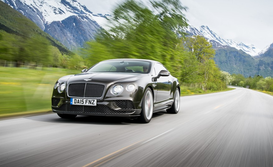 First Drive REVIEW Of The 2016 Bentley Continental GT Speed GT V8 S coupe 9