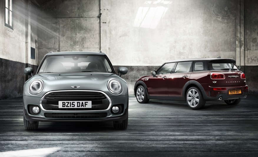MINI Is BACK With Another BIGGER 4-DOOR MODEL 2016 MINI COOPER CLUBMAN 1