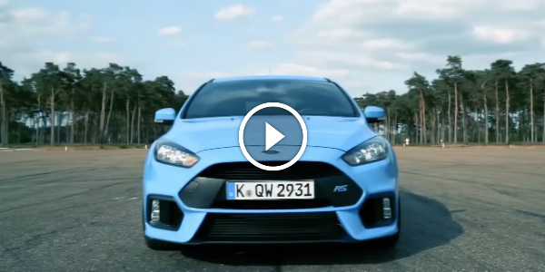 NEW FORD FOCUS RS Will DELIVER 345 HP Take A Look At KEN BLOCK 22