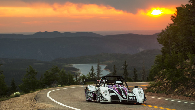RHYS MILLEN CONQUERS PIKES PEAK With An ELECTRIC RACECAR 13