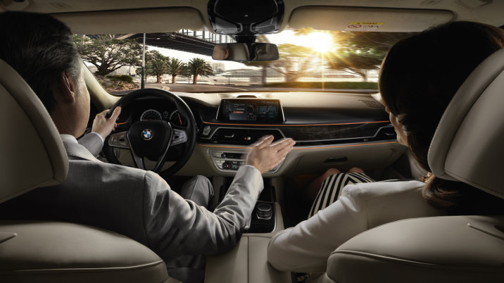 The 2016 BMW 7 SERIES 9