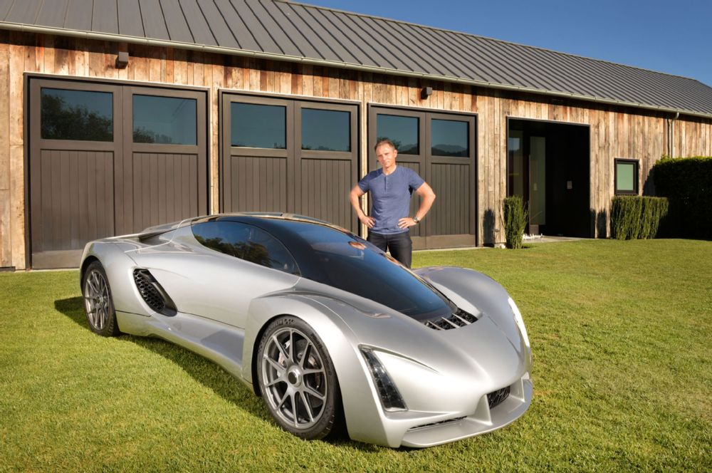 The FIRST 3D PRINTED SUPERCAR Named BLADE 2