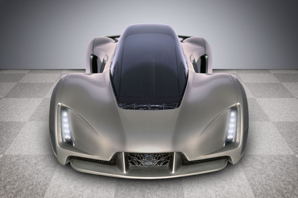 The FIRST 3D PRINTED SUPERCAR Named BLADE 4