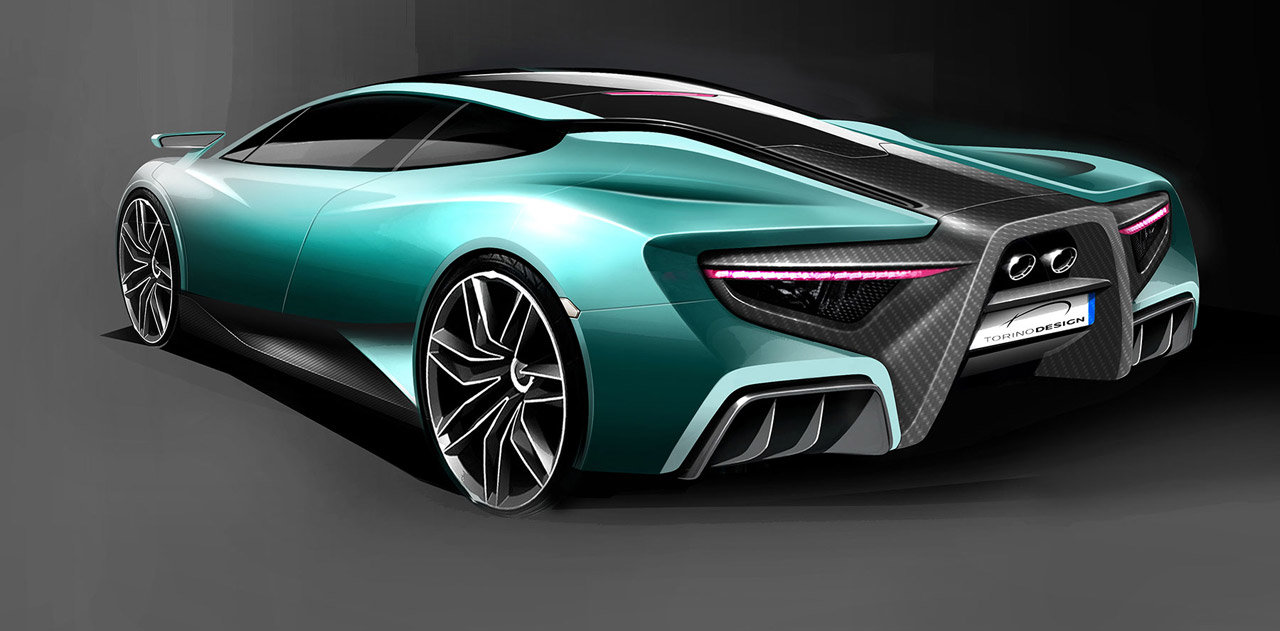 Torino Design ATS Wildtwelve! HYBRID HYPERCAR With A Top Speed Of 242 MPH 6