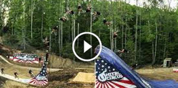 History Made First Ever BMX Quad Backflip
