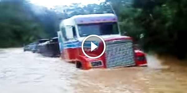 Truck Vs The Flow of The Rivers