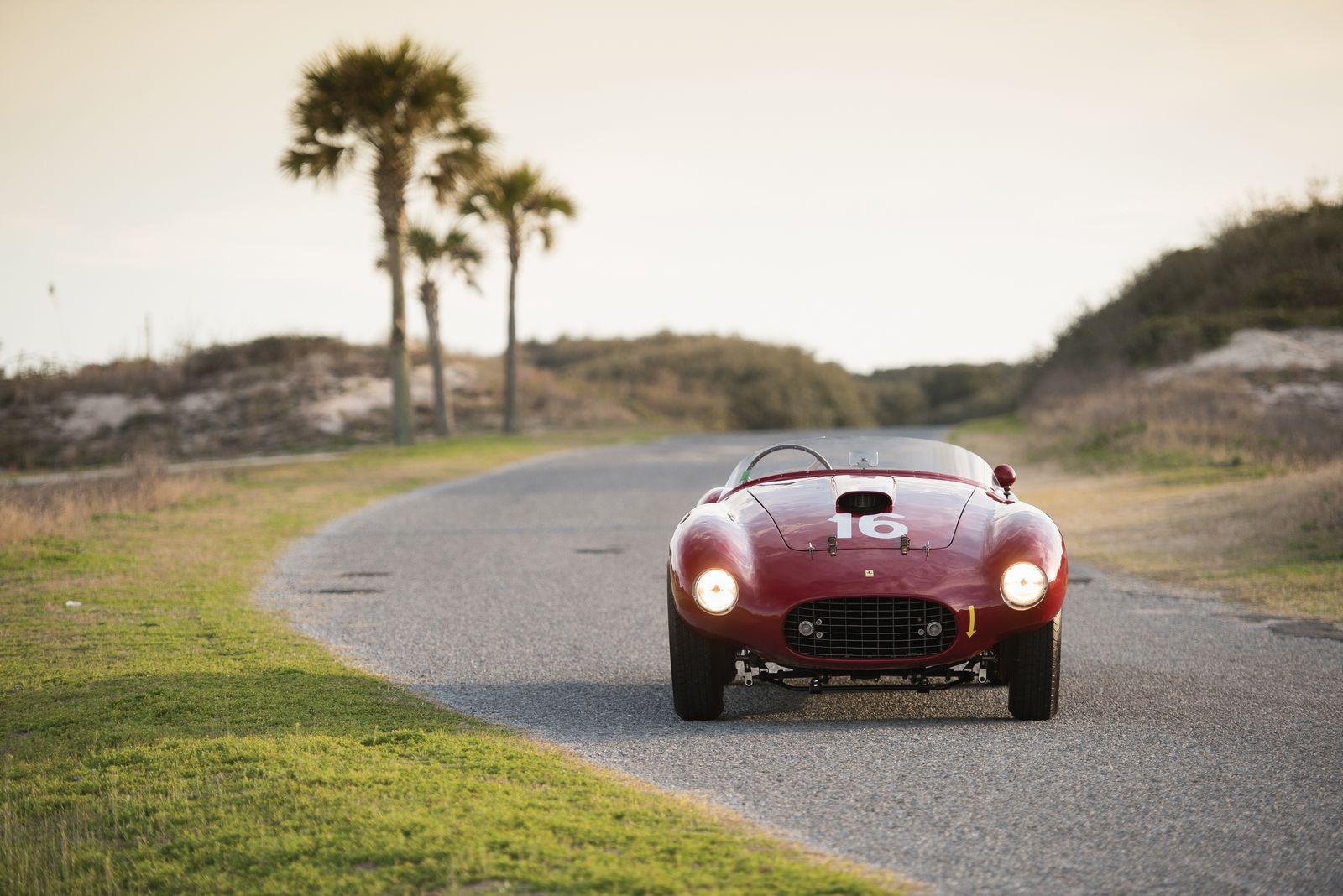 1950 Ferrari 275S 340 America Barchetta Goes To AUCTION For $10 Million 11