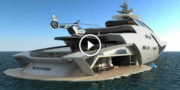 295 ft Long OPULENT Yacht Called PROJECT MAGNITUDE Must See This GORGEOUS Creation Of Lukasz Opalinski 321