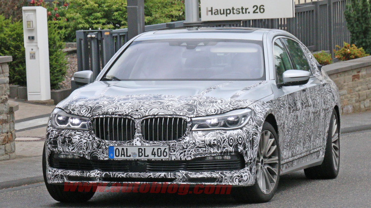 BMW Tested Its Latest Work-Of-Art Take A Look At The New ALPINA B7 SPY PHOTOS 1