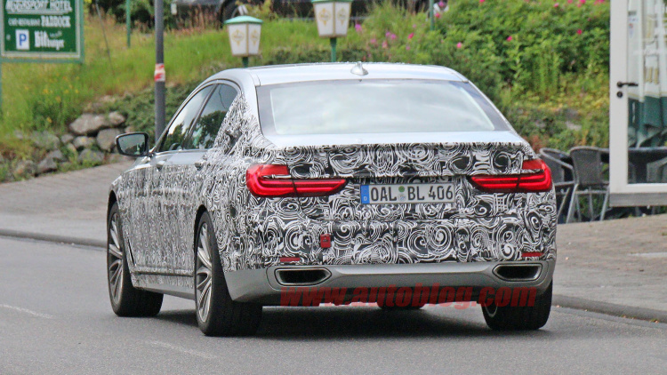 BMW Tested Its Latest Work-Of-Art Take A Look At The New ALPINA B7 SPY PHOTOS 7