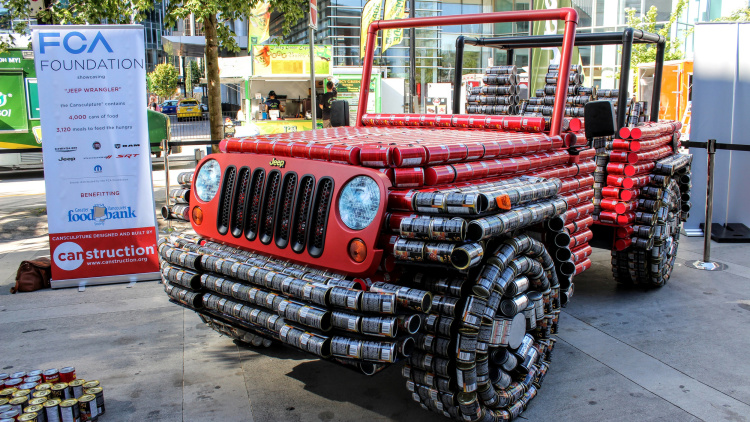BUILD Out Of CANS Jeep Wrangler Canadians MADE For CHARITY 1