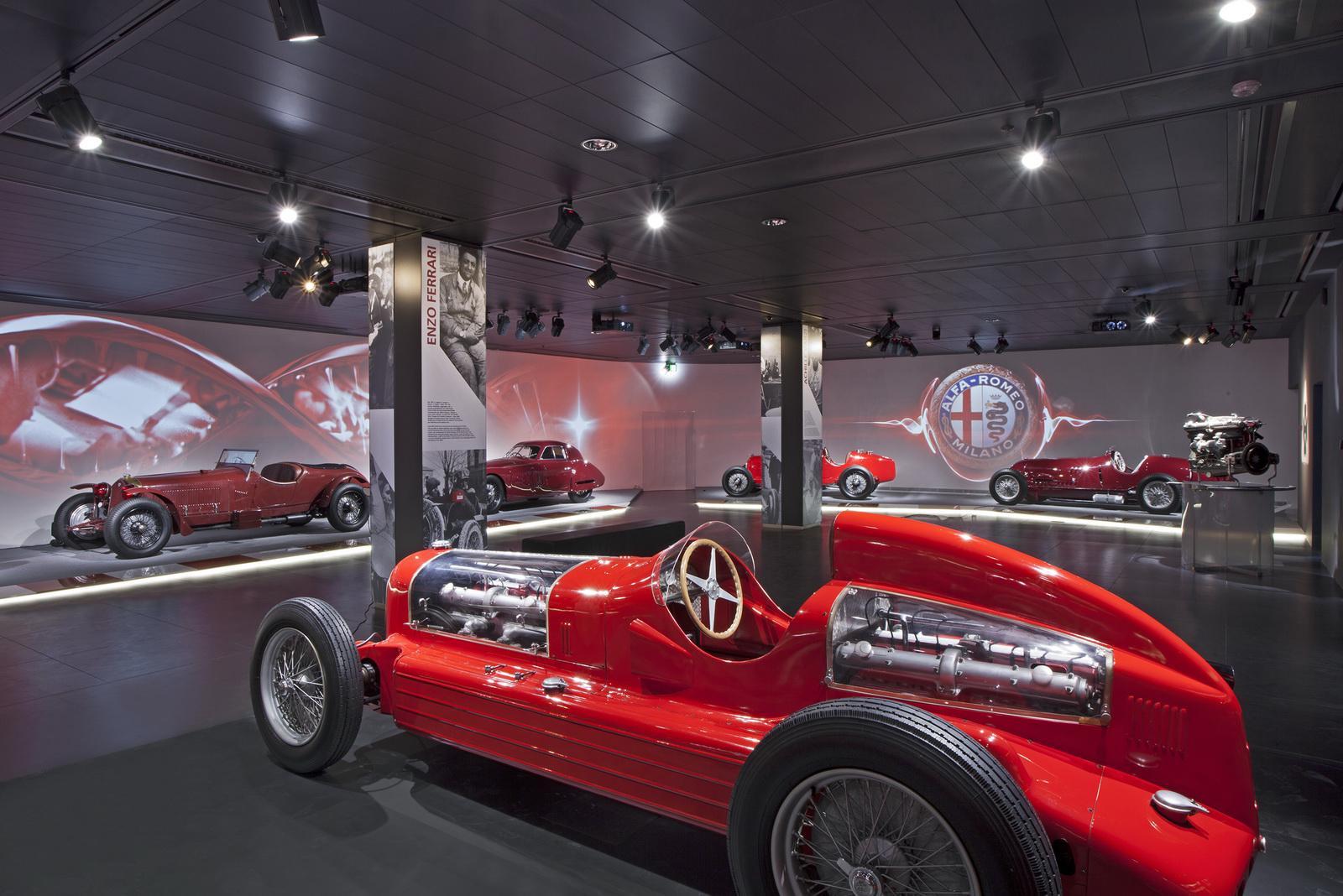 Brand New Alfa Romeo Museum In Italy 4