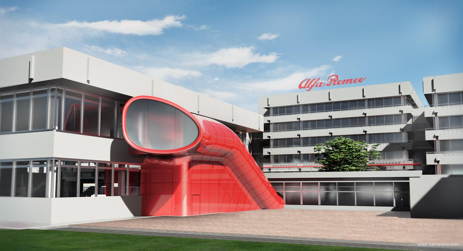 Brand New Alfa Romeo Museum In Italy 6