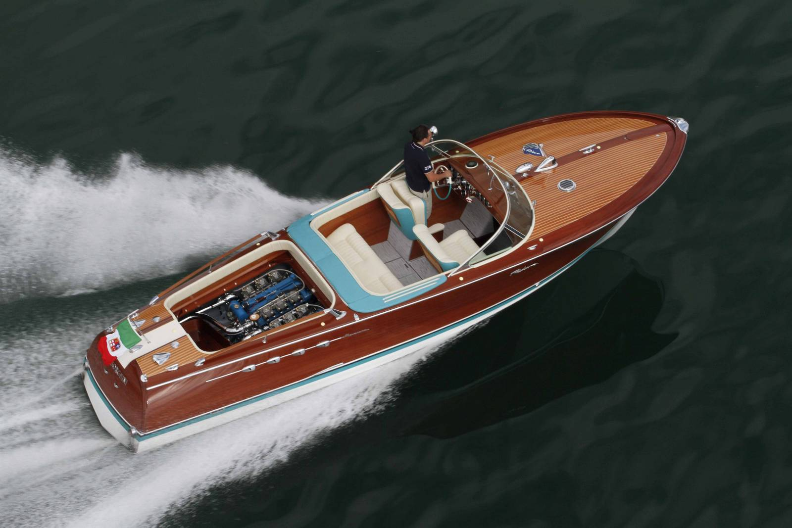 Ferrucio Riva Aquarama Boat Is UP FOR SALE It Features TWO ...