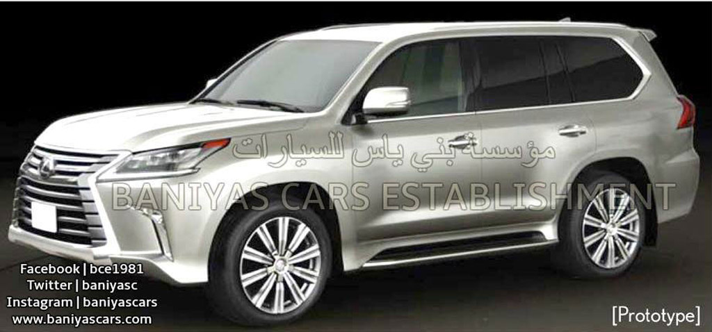 LEAKED PHOTOS... AGAIN! See The Latest From The 2016 LEXUS LX 570 4