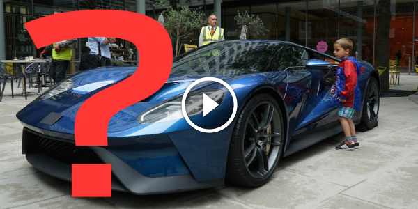 Londoners Guess The GT Supercar Without Its Ford Emblems 41