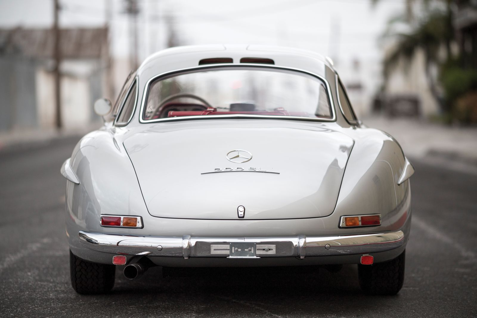 Mercedes-Benz 300SL Alloy Gullwing Heads To AUCTION! It Will Be Sold For At Least $5.5 M 12